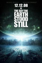 The Day the Earth Stood Still movie poster (2008) 27x40 advance