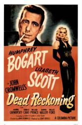 Dead Reckoning movie poster [Humphrey Bogart, Lizabeth Scott] 26x38