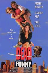 Dead Funny movie poster [Andrew McCarthy/Elizabeth Pena/Paige Turco]
