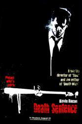 Death Sentence movie poster [Kevin Bacon] original 27x40 advance