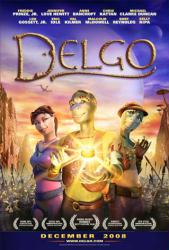 Delgo movie poster [2008] 27x40 original one-sheet (VG)