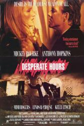 Desperate Hours movie poster [Mickey Rourke, Kelly Lynch] 24x36