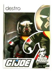G.I. Joe [Mighty Muggs] Destro figure (Hasbro/2008) New