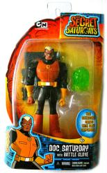 The Secret Saturdays: Doc Saturday action figure (Mattel/2009)