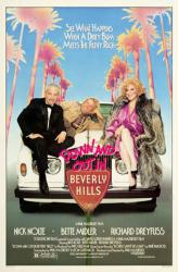 Down and Out In Beverly Hills movie poster [Nick Nolte & Bette Midler]
