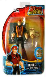 The Secret Saturdays: Doyle action figure with Jet Pack (Mattel/2009)