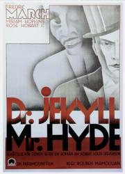 Dr. Jekyll and Mr. Hyde movie poster (1931) [Fredric March]