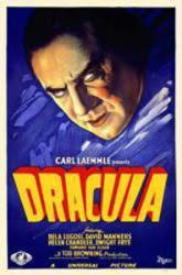 Dracula movie poster [Bela Lugosi] Blue (11'' X 17'')
