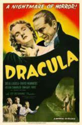 Dracula movie poster [Bela Lugosi] (Hands on Throat) 11'' X 17''
