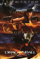 Dragonball: Evolution movie poster [Justin Chatwin & Chow Yun Fat]