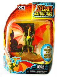 The Secret Saturdays: Duah cryptid figure (Mattel/2009) New