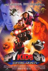 Spy Kids 3-D: Game Over movie poster [Antonio Banderas & Carla Gugino]