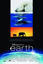 Earth movie poster (Disney Nature) 27x40 one-sheet