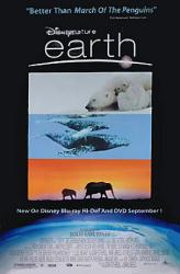 Earth movie poster [Disney Nature] DVD release poster
