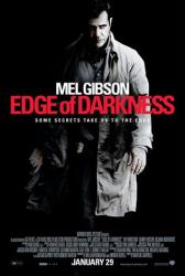 Edge of Darkness movie poster (2010) [Mel Gibson] original 27x40
