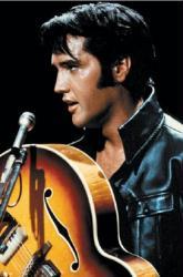 Elvis Presley poster: King of Rock n Roll (24x36 Poster)