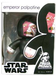 Star Wars [Mighty Muggs] Emperor Palpatine figure (Hasbro/2008)