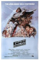 The Empire Strikes Back movie poster (Style B) 27'' X 40''