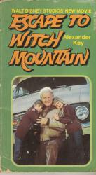 Escape to Witch Mountain paperback book/1975 Walt Disney/Movie Tie-In