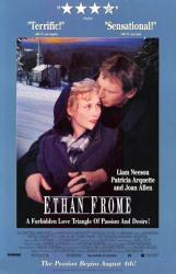 Ethan Frome movie poster [Liam Neeson & Patricia Arquette] video/NM
