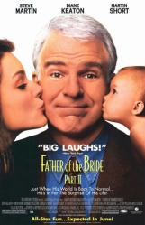 Father of the Bride Part II movie poster [Steve Martin] video poster