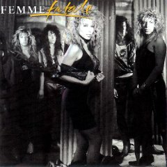 Femme Fatale poster: Femme Fatale vintage LP/Album flat