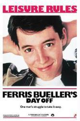 Ferris Bueller's Day Off movie poster [Matthew Broderick] 24'' X 36''