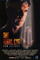 The Final Cut movie poster [Sam Elliott] video poster (1995)