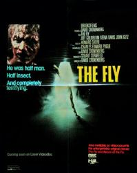The Fly movie poster [Jeff Goldblum] a David Cronenberg film (video)