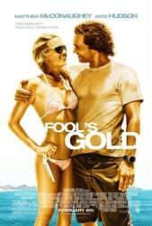 Fool's Gold movie poster [Matthew McConaughey, Kate Hudson] 27x40