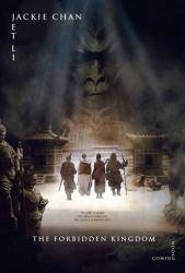 The Forbidden Kingdom movie poster (2008) original 27x40 advance