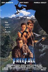 Freefall movie poster [Eric Roberts, Jeff Fahey] 27x40