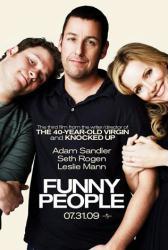 Funny People movie poster [Adam Sandler, Seth Rogen & Leslie Mann]