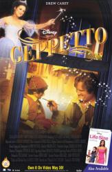 Geppetto movie poster [Drew Carey & Julia Louis-Dreyfus] Disney