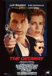 The Getaway movie poster [Alec Baldwin, Kim Basinger & James Woods]