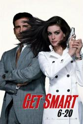 Get Smart movie poster [Steve Carell, Anne Hathaway] 27x40