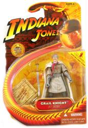 Indiana Jones [Last Crusade] Grail Knight action figure (Hasbro/2008)