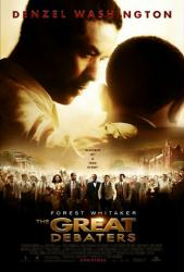 The Great Debaters movie poster [Denzel Washington & Forest Whitaker]