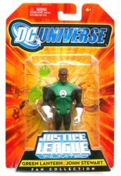 DC Universe [JLU] Green Lantern: John Stewart figure (Mattel/2008)