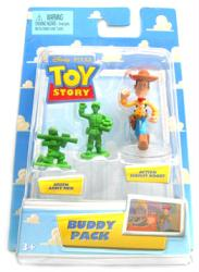 Toy Story [Buddy Pack] Green Army Men & Action Sheriff Woody (Mattel)
