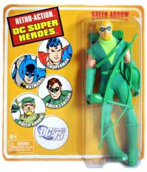 Retro Action DC Super Heroes: Green Arrow action figure (Mattel/2009)