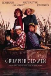 Grumpier Old Men movie poster /Jack Lemmon/Walter Matthau/Sophia Loren