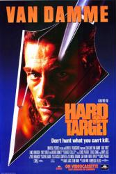 Hard Target movie poster [Jean-Claude Van Damme] video poster