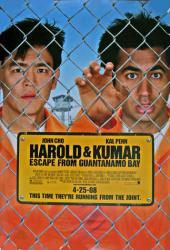 Harold & Kumar: Escape From Guantanamo Bay poster [John Cho/Kal Penn]