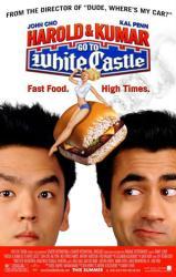 Harold & Kumar Go to White Castle movie poster [Kal Penn & John Cho]