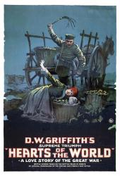 Hearts of the World movie poster [a D.W. Griffith film] 18'' X 24''