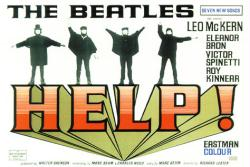 Help! movie poster (1965) [The Beatles] 38x27
