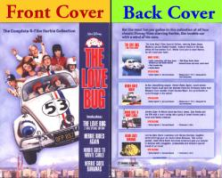 Herbie The Love Bug DVD set of 4 movies (Walt Disney) Brand New