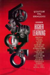 Higher Learning movie poster [Omar Epps, Ice Cube, Laurence Fishburne]