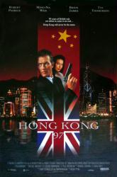 Hong Kong 97 movie poster [Robert Patrick & Ming-Na Wen] Albert Pyun